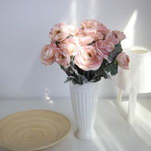 FLEUR ARTIFICIELLE Soie Artificielle Fausses Fleurs Daisy Lotus Maria