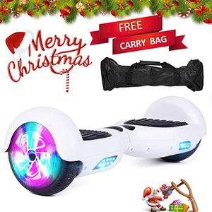 ACCESSOIRES GYROPODE - HOVERBOARD Hoverboard électrique Scooter Gyropode Blanc board
