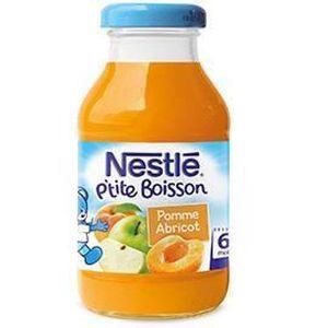 BOISSON BÉBÉ HORS LAIT NESTLÉ P'tite Boisson Pommes Abricots 20 cl - Dès