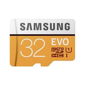 CARTE MÉMOIRE Samsung carte Micro SD Evo 32Go 95Mo/s