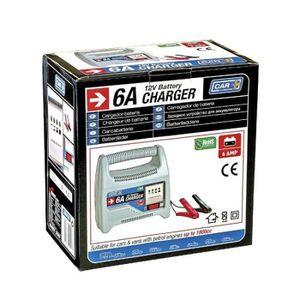 CHARGEUR DE BATTERIE Chargeur de batterie voiture 12V 6AMP Moto , quad