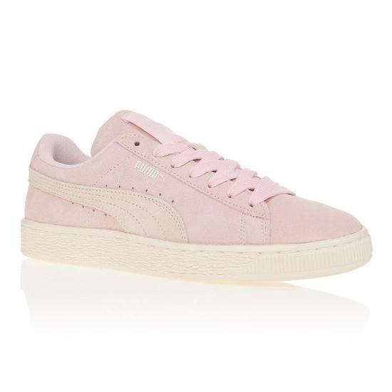 Puma WNS SUEDE CLASSIC Chaussures Mode Sneakers Fe Rose Rose basket - Achat / Vente basket Rose fd828c