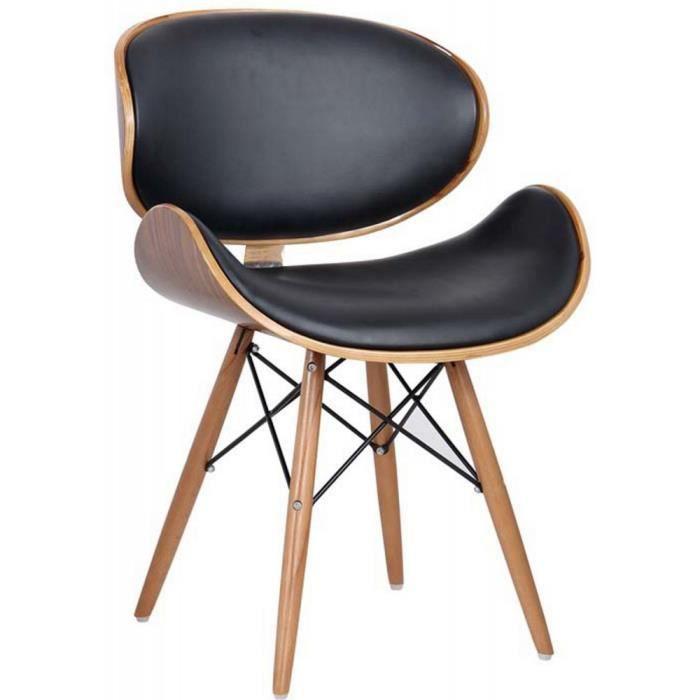 Chaise de bureau/salon/salle à manger Style rétro Eames DSW ...