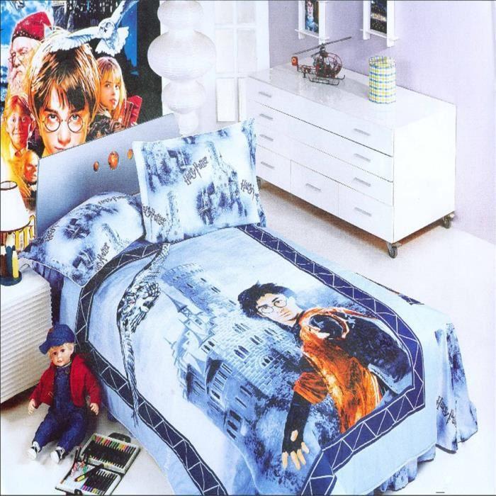 L Amp M 174 Harry Potter 100 Coton Enfant Parure De Couette