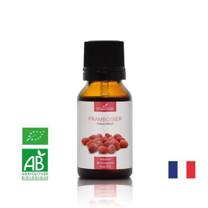 BEAUTÉ CHEVEUX-ONGLES FRAMBOISIER - 15mL - Macérat de bourgeons BIO - Co