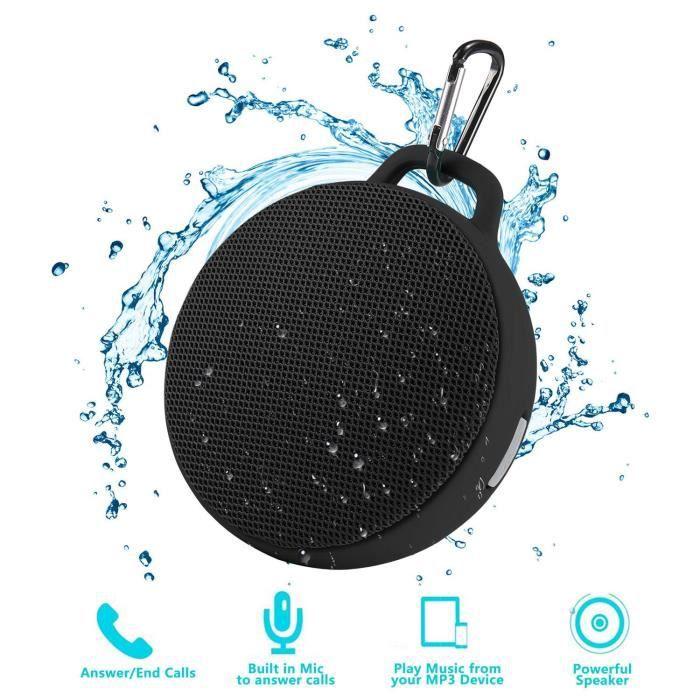 Haut-parleur Portable Imperméabilisant Bluetooth Sans Fil