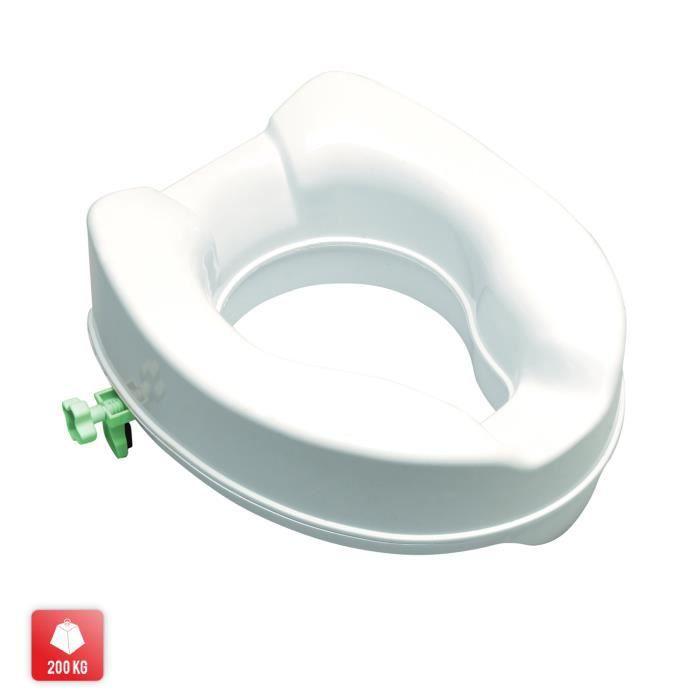 RÉHAUSSEUR AUTO Comfort Réhausseur de toilette