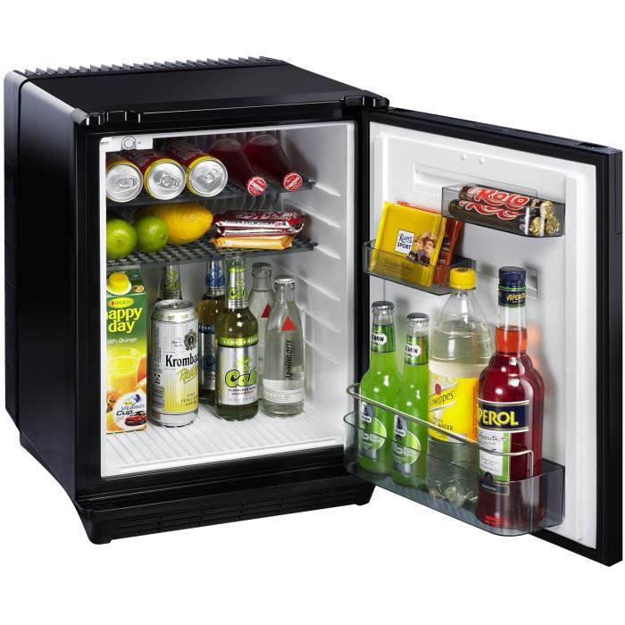 dometic r frig rateur mini bar 34 litres 34 l noir. Black Bedroom Furniture Sets. Home Design Ideas