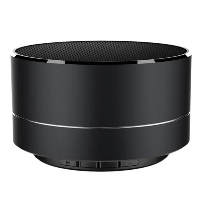 Getek® Parleur Sans Fil Mini Bluetooth Portable Noir