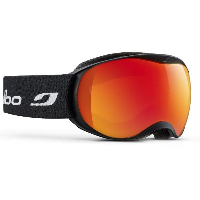Masque de ski pour enfant JULBO Noir ATMO Noir Orange Spectron 3 Miroir d56966376001