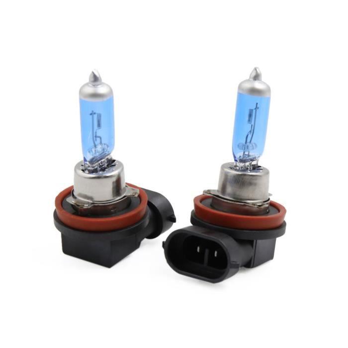 H11 Dc 2 Lampes 100w Voiture Halogène Lampe Pour Antibrouillard Pcs Phares 12v wIqqU54g
