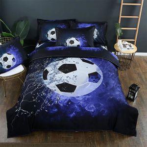 Parure de lit football 2 personnes achat vente pas cher - Parure de lit om 2 personnes ...