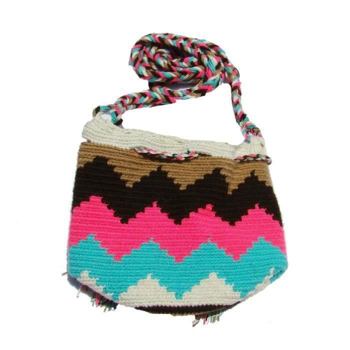 Sac Wayuu - Mini Mochila - 8026-88 XSWT5