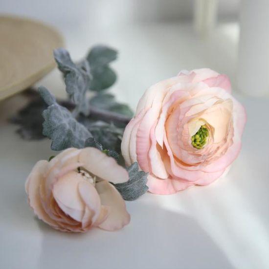 Soie Artificielle Fausses Fleurs Daisy Lotus Mariage Bouquet Maison Decor PK WTX70925485PK 3780
