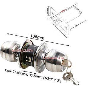 Poignee de porte exterieure avec serrure achat vente - Poignee de porte ronde avec serrure ...