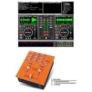TABLE DE MIXAGE TABLE DE MIXAGE MIXER USB MP3 WAV + LOGICIEL MIXVI