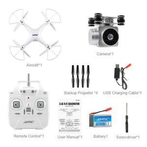DRONE JJRC H68 Grand Angle 720P Caméra HD Quadcopter RC