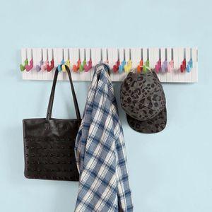 support barre de penderie achat vente pas cher. Black Bedroom Furniture Sets. Home Design Ideas