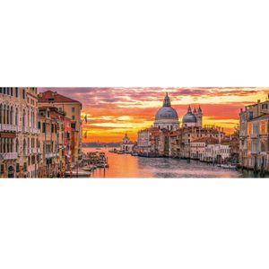 PUZZLE Puzzle 1000 pièces panoramique : Le Grand Canal de