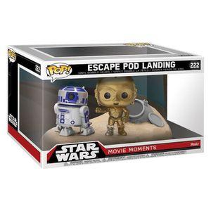 FIGURINE - PERSONNAGE 2 Figurines Funko Pop! Star Wars: Escape Poo Landi