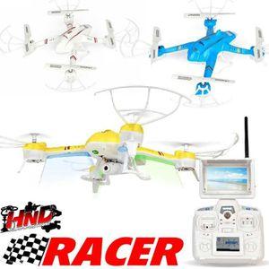 DRONE Sport Drone Racer 400 Bleu FPV avec Retour Vidéo s