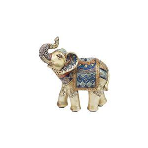 OBJET DÉCORATIF Home Decor - Figurine Resine Elephant 13 cm - Coul