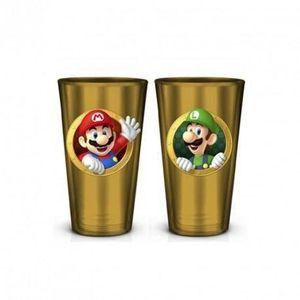 Verre à eau - Soda Verre Pinte Nintendo : Super Mario - 50 cl