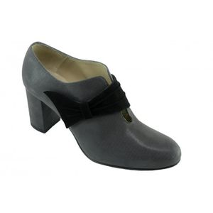 BOTTINE LIDIA - Chaussures Low-boots bout rond patte velcr