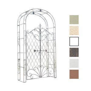 Arche Pour Jardin Avec Porte Achat Vente Pas Cher