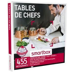 COFFRET GASTROMONIE Coffret Cadeau - Tables de chefs - Smartbox