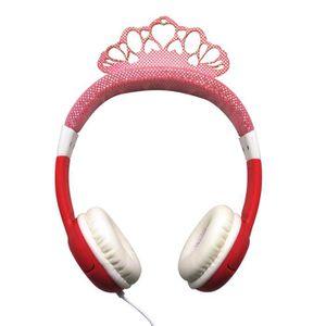 CASQUE AUDIO ENFANT TEKNOFUN Casque Princesse 85db Rose