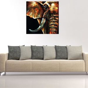 TABLEAU - TOILE TEMPSA Tableau Peinture Huile sur Toile Abstrait A