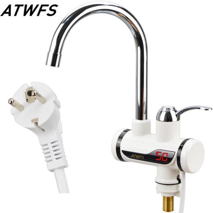 Chauffe eau lectrique 220v 3000w prise eu robinet d - Chauffe eau instantane avis ...