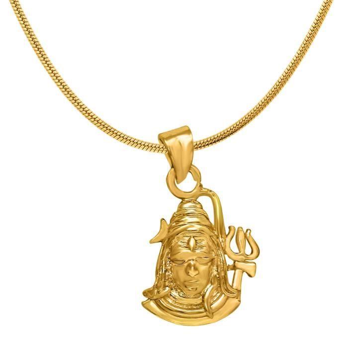 Femmes Exa Collection Shiva plaqué or religieuse Dieu Pendentif pour & Ps6012036g PVEFP