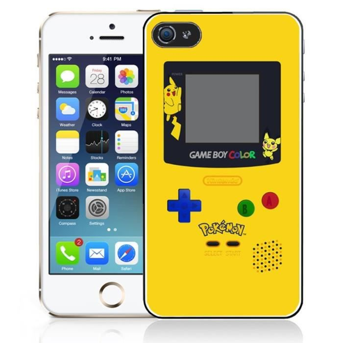 coque iphone 5 gameboy
