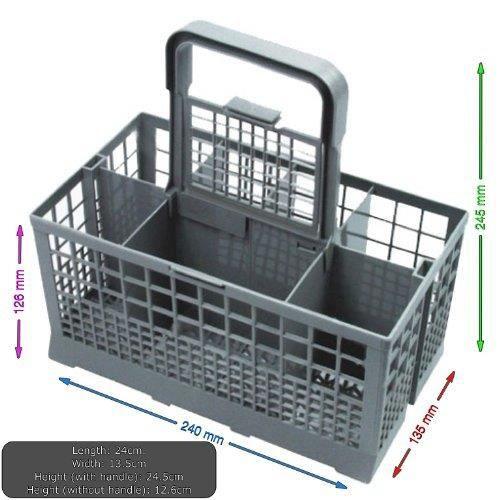 PIÈCE LAVAGE-SÉCHAGE  Panier à couverts universel pour lave-vaisselle…