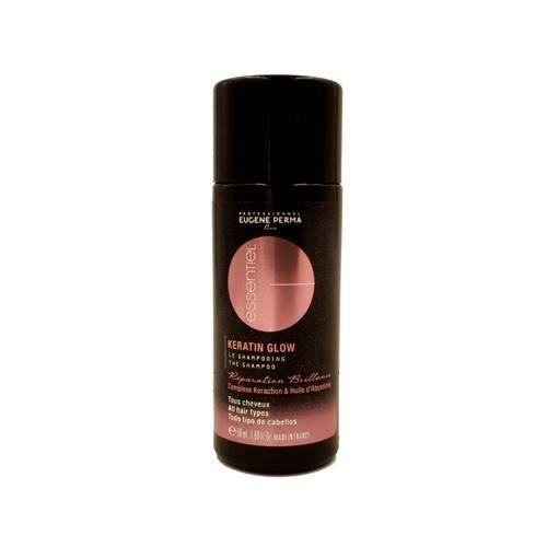 eugene perma shampooing essentiel keratin glow 50 ml achat vente shampoing eugene perma. Black Bedroom Furniture Sets. Home Design Ideas