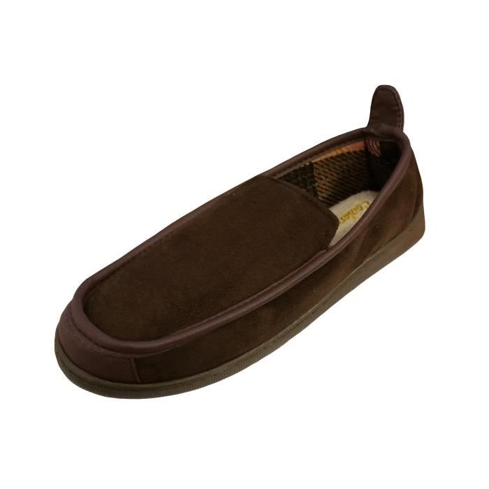 Coolers Chaussons Microsuede Doublure en Polair... 1TKgX
