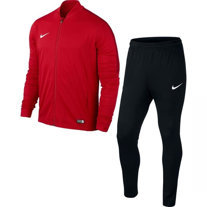 312daafc99b Survetement Nike Knit Academy 16 Rouge taille XXL Rouge - Achat ...