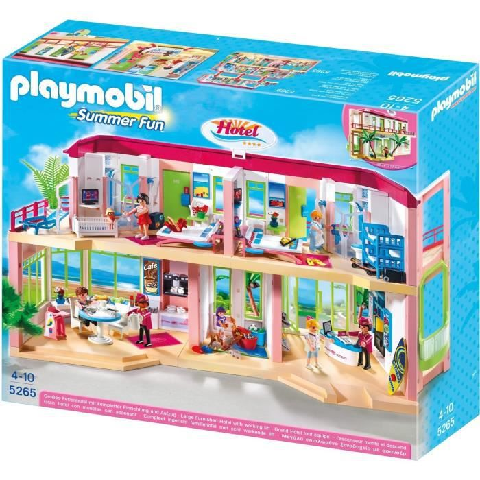 playmobil summer fun le grand h tel achat vente. Black Bedroom Furniture Sets. Home Design Ideas