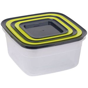 boites plastique avec couvercle alimentaire achat vente pas cher. Black Bedroom Furniture Sets. Home Design Ideas
