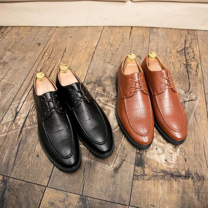 Mocassins homme Chaussures de villeChaussures pour costume Chaussures officielesChaussures populaires Confortables Nouveauté