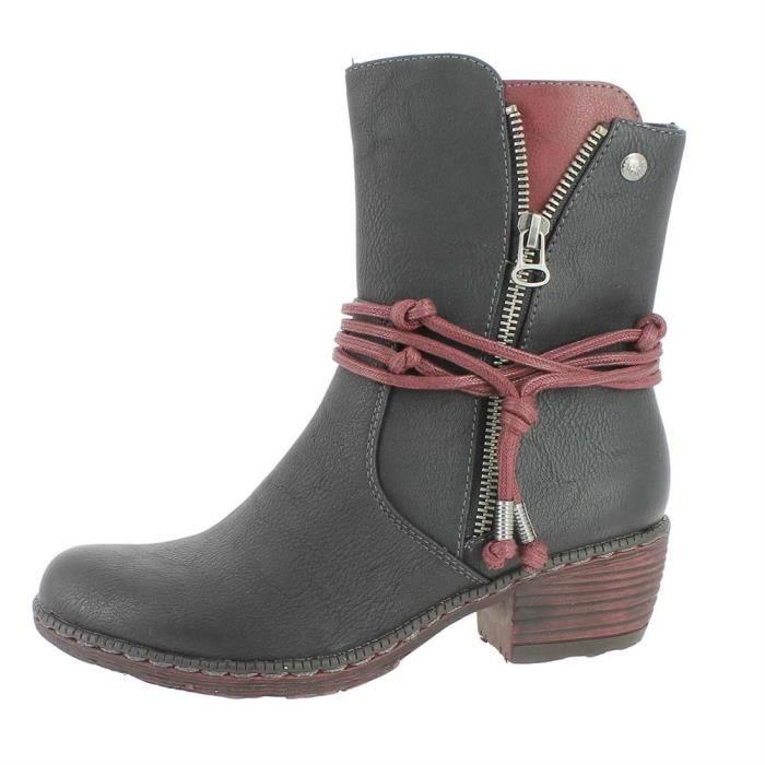 bottines / low boots k1467 femme rieker k1467