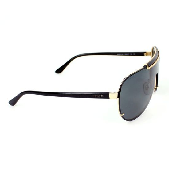 465fbf5da0fc2b Lunettes de soleil Versace VE2140 Noir - or, ve… Noir, Or - Achat   Vente  lunettes de soleil Femme - Cdiscount