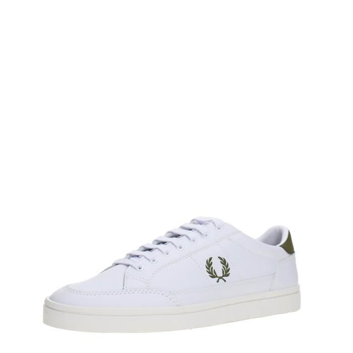 FRED PERRY Sneakers Homme WHITE/BLUE, 41