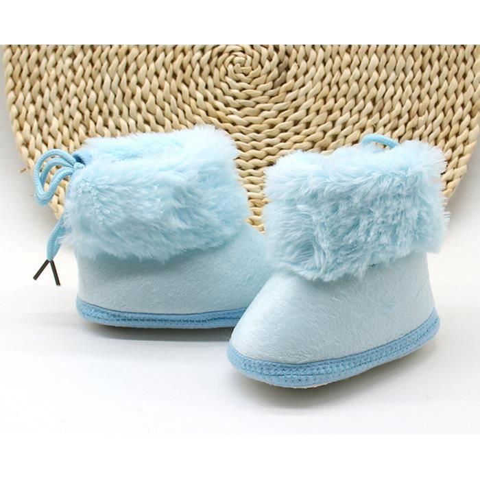 Bottillons ns Bb Doux Tout ons petit Neige De Rchauffement bleu Chaussures Filles Nouveau Gar Bottes Pour q7f74wIS