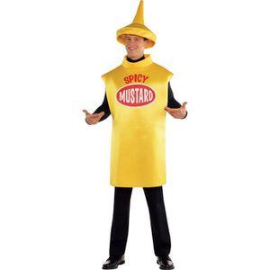 DÉGUISEMENT - PANOPLIE AMSCAN Costume Humour Bouteille de Moutarde - Tail