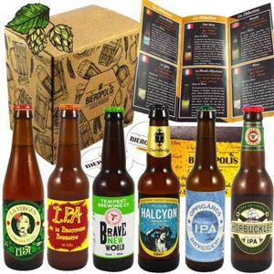 COFFRET CADEAU GOURMAND Assortiment Bières Artisanales IPA - Découverte de