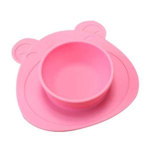 ASSIETTE - PLATEAU BÉBÉ Plaque de table en silicone pour enfants Plaque de