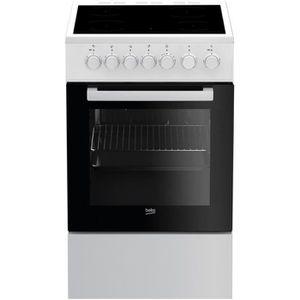 CUISINIÈRE - PIANO Cuisinière BEKO - FSS 57100 GW • Cuisinière et Pia